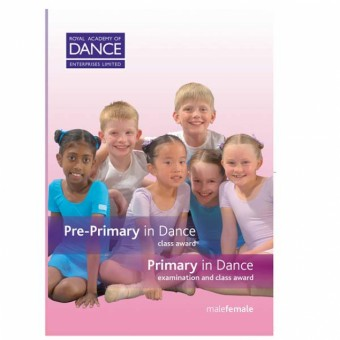 RAD Pre Primary/Primary in Dance DVD's (Set of 2)