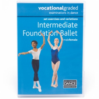 RAD Vocational Intermediate Foundation Ballet DVD
