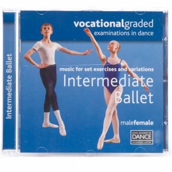 RAD Vocational Intermediate Ballet CD
