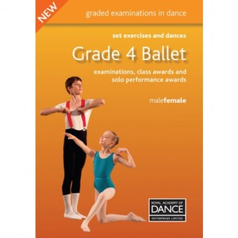 Grade 4 Ballet Set Exercises & Dances Book