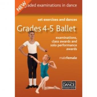 Grade 4-5 Ballet DVD