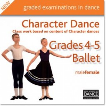Grades 4-5 Character Dance CD