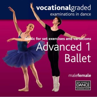 RAD Advanced 1 Male/Female Ballet CD