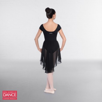 RAD Approved Leotard with Ruched Front (Black)