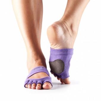 ToeSox Relevé No Toe Grip (Purple)