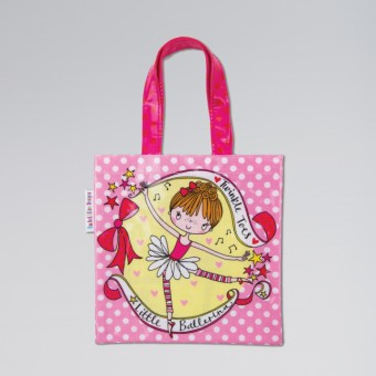 Rachel Ellen Little Ballerina Mini Tote Bag