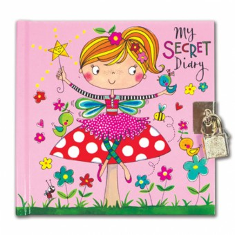 Rachel Ellen Fairy on a Toadstool Secret Diary