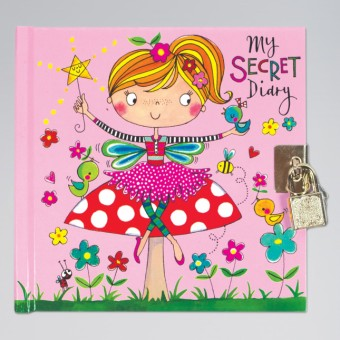 Rachel Ellen Fairy on a Toadstool Secret Diary