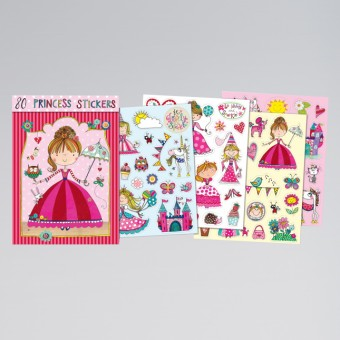 Rachel Ellen Princess Sticker Book