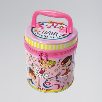 Little Ballerina Zipped Tin