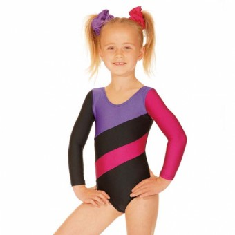 Roch Valley Hop Leotard (Black/Purple)