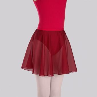 Roch Valley Circular Chiffon Skirt (Plum)