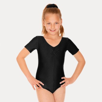 Roch Valley Jeanette Short Sleeved Leotard (Black)