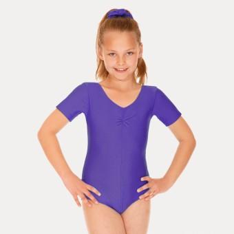 Roch Valley Jeanette Short Sleeved Leotard (Purple)