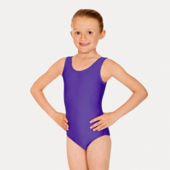 Roch Valley Joanne Sleeveless Leotard (Purple)