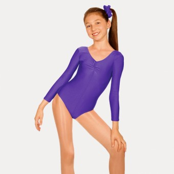 Roch Valley Martene Long Sleeved Leotard (Purple)