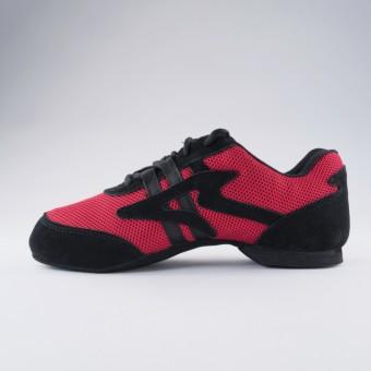 Sansha Salsette1 Jazz Shoe (Red)