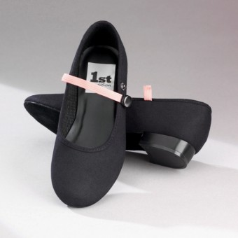 1st Position Low Heel Canvas Character Shoes