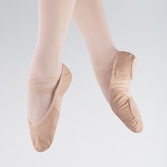 So Danca Stretch Insert Leather Ballet Shoe