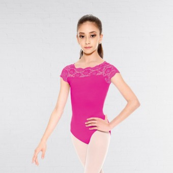 So Danca Child Top Laced Leotard (Pink)