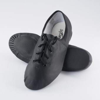 So Danca Split Sole Rubber Jazz Shoe (Black)