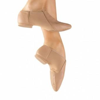 So Danca Split Sole Stretch Jazz Shoe (Caramel)