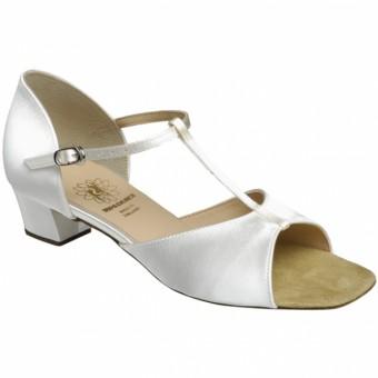 Supadance Classic Girls Sandal In Satin (White)