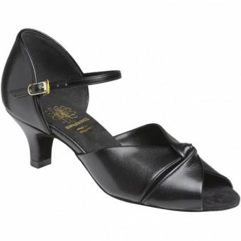 Supadance Latin Coag Sandal (Black)