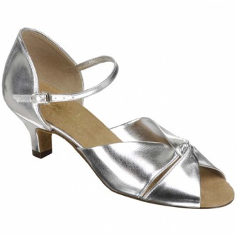 Supadance Latin Coag Sandal (Silver)