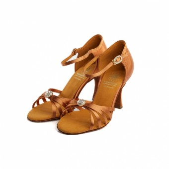 Supadance Shaped Back Satin Shoe