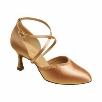Supadance Closed Toe Satin Sandal