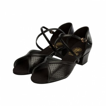 Supadance Teaching And Practice Leather Sandal (Black)