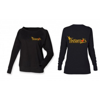 Skinni Fit Slounge Sweatshirt (Black)