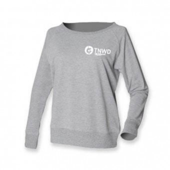 Skinni Fit Slounge Sweat Shirt (Heather) with TNWD Performing Arts Logo