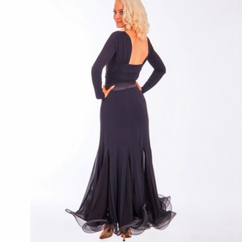 DSI Marissa Ballroom Skirt (Black)