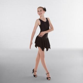 1st Position Practice Ballroom Skirt (Black)