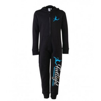 SF Minni Kids All In One (Black) with Footlight Performance Academy Logo