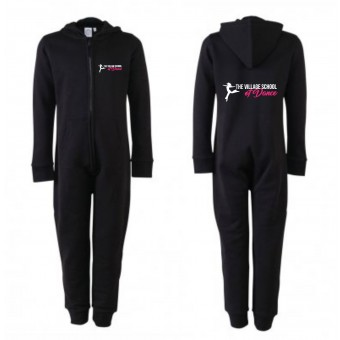 PP *#241002#* SF Minni Kids All In One (Black) with The Village School Of Dance Logo