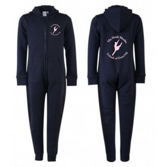 PP *#211104#* SF Minni Kids All In One (Navy Blue) with Heidi Rhodes School Of Dancing Logo