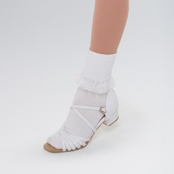 Lace Trimmed Ankle Socks