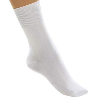 1st Position Ballet Socks Pack of 12 (White)