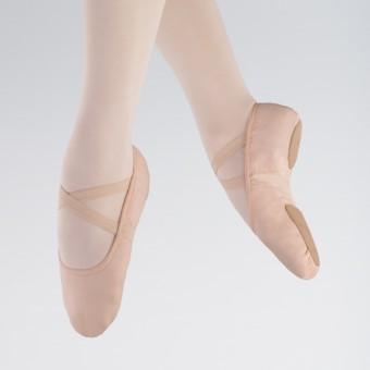 1st Position Zapatilla de Ballet de Tela Elástica y Suela Dividida