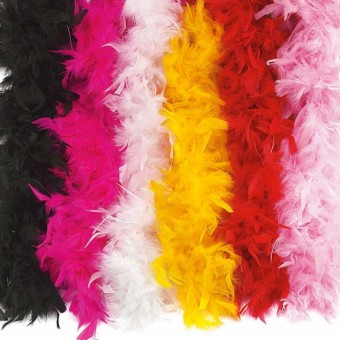 Feather Boa Hot Pink