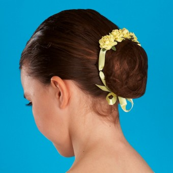 Floral Hair Blossom - Lemon