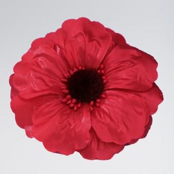 Red Poppy Clip
