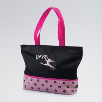 1st Position Spotty Tote Bag