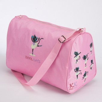 Bolsa Kool Katz rosa con cremallera en la parte superior