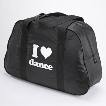 "Katz Black ""I Love Dance"" Bag"