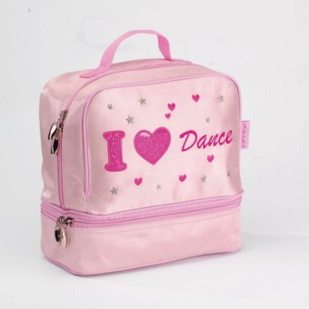 Katz I Heart Dance Satin Dance Bag