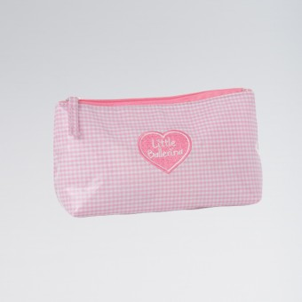 Little Ballerina Gingham Washbag